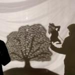 木とカムイの人形